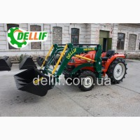 Погрузчик на мини-трактор, КУН+ джойстик - Деллиф Бейби 500