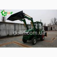 Погрузчик на мини-трактор, КУН - Деллиф Бейби 500