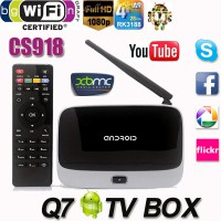 IPTV медиаплеер Android TV BOX CS918