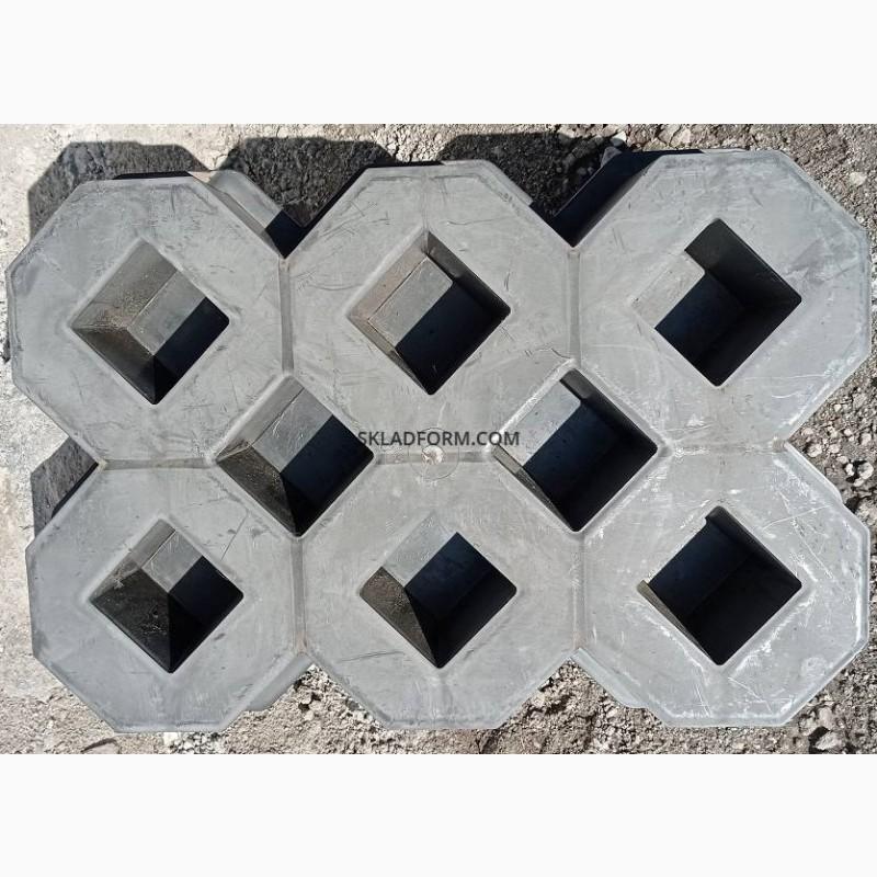 Фото 4. Форма для тротуарной плитки решетка газонная под траву
