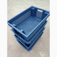 Пищевые хозяйственные пластиковые ящики для мяса молока рыбы овощей в Запорожье купить