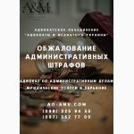 Обжалование штрафов, решение административных споров Харьков