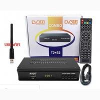 Новый эфирно-спутниковый комби приемник Full HD DVB-T2 DVB-S2 Wifi Youtube