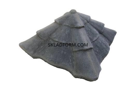 Форма крышки колпак Карпатский 2