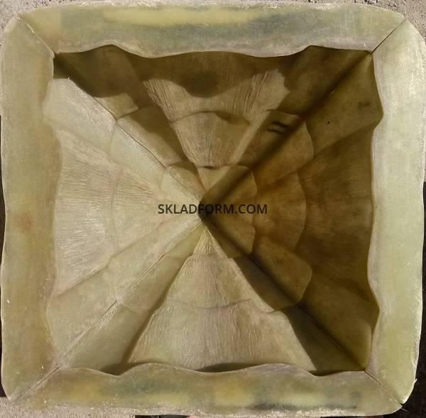 Фото 4. Форма крышки колпак Карпатский 2