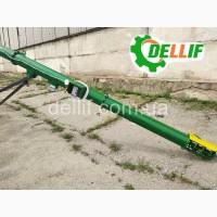 Шнековый транспортер 8 м (труба 219 мм, 380 В) Деллиф