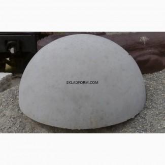 Формы для бетонной антипарковочной полусферы
