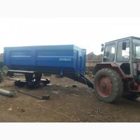 Прицеп тракторный самосвальный, зерновоз